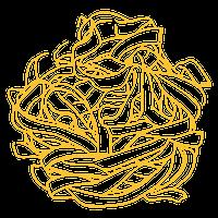 handmade pasta fettuccine