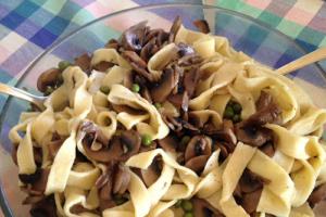 pasta gluten free with mushrooms