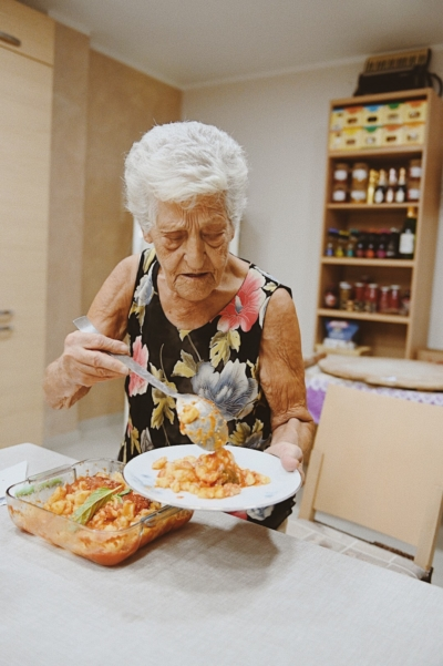handmade pasta with grandma gnocchi