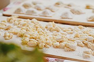handmade pasta with grandma gnocchi naples